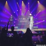 Snow on stage at SOCAN 2017