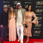 Snow & family on red carpet at SOCAN Awards 2017