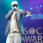 Snow on stage at SOCAN Awards 2017