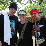 Snow & Sean Paul at Rick's Cafe - Negril, Jamaica 2003